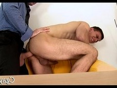 Naughty threesome for homosexuals