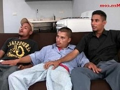 Straight married latino men fuck with other