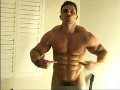 Big Muscle Webcam Guy