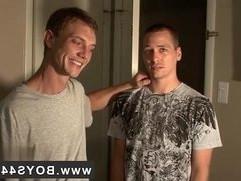 Gay twinks Kriss Kross the Bukkake Boss