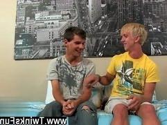 Amazing gay scene Hes still a virgin!