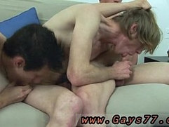 Aged men sucking young gay twinks to climax movies first time With