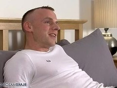 Wanking With Hung Uncut Dean