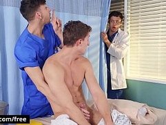fucking in the clinic with michael jackman nate grimes zane williams bromo
