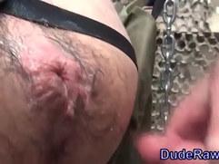 Bear raw fuck creampie